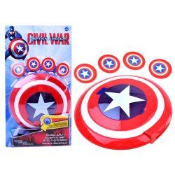 Štít filmového hrdinu Captaina America