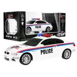 Policajné auto BMW M3 na diaľkové ovládanie