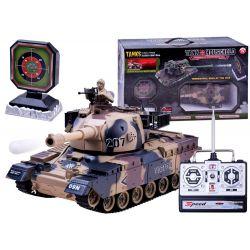 Tank na diaľkové ovládanie, strieľa guľky