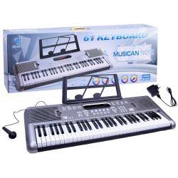 Piano s mikrofónom, 61 kláves SD-6118