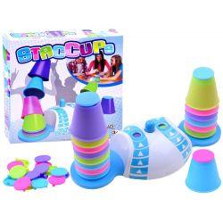 Hra farebné poháre Staccups