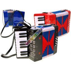 Veľký detský akordeón s klávesmi