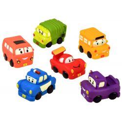 Gumové autíčka – hračky do kúpeľa