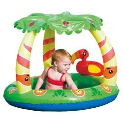 Bestway 52179 destký bazénik s tienidlom a papagájom