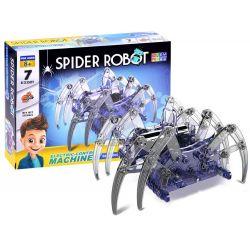 Stavebnica –pohyblivý pavúk na batérie