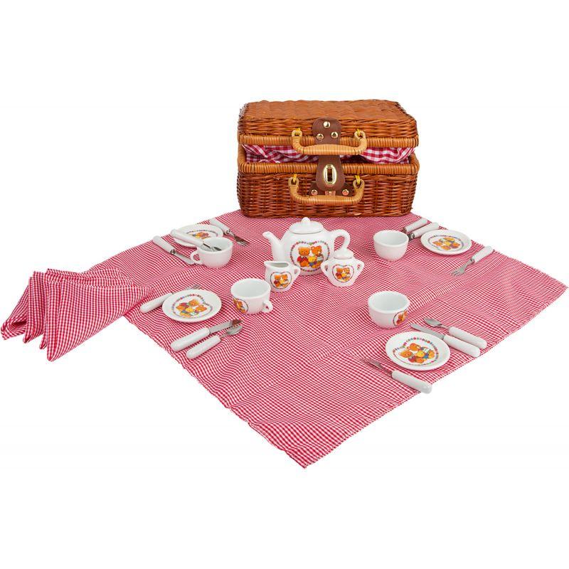 Raňajkový piknikový kôš