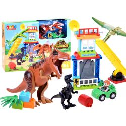 JDLT Postav svet Dinosaurov, veľké skladačky 43 dielov