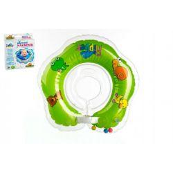 Nákrčník na plávanie - Flipper zelený