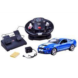 Ford Shelby GT500 licencia + ovládanie volantom a pedálmi