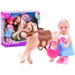 ANLILY Kili Love – mini bábika s koníkom