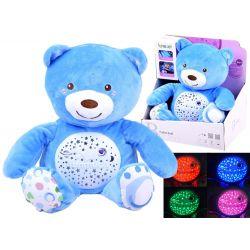 Projektor – plyšový medveď