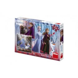 Puzzle 3v1 Frozen 3x55 dielov
