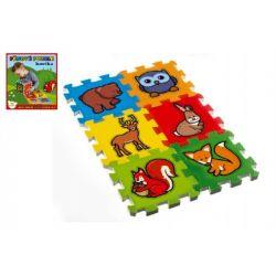 Penové puzzle Moje prvé lesné zvieratká 15x15