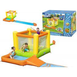Bestway 53343, obrovské detské vodné ihrisko s trampolínou a vodnou šmýkačkou