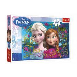 Puzzle Frozen 100 dielikov