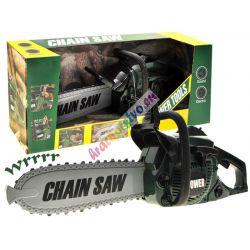 Dětská motorová pila - zelená