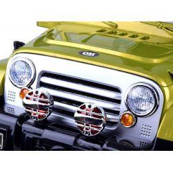 ELCARS elektrické autíčko Jeep Rancherio, odpružený, EVA kola, SPZ se jménem