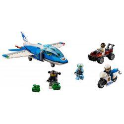 LEGO- Zatknutie zlodeja s padákom