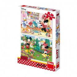 Puzzle Minnie, 2x77 dielikov