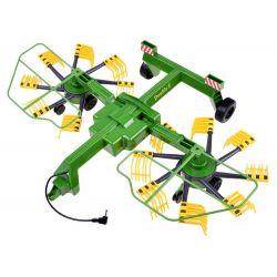 Zhrňovač  - poľnohospodársky stroj na traktor