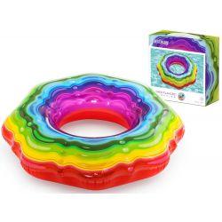 BESTWAY Nafukovacie farebné koleso Jelly