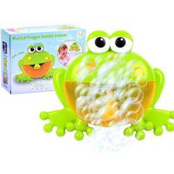 Bublinková žabka do kúpeľa