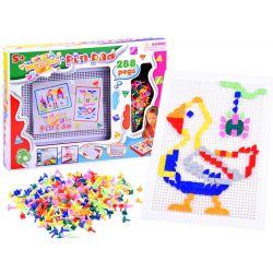 Farebná mozaiková skladačka