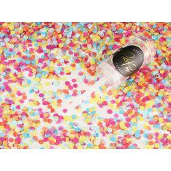Vystreľovacie konfety, mix farieb