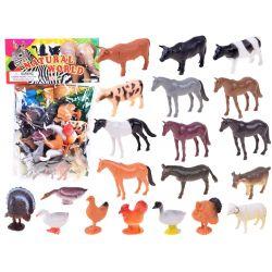 Figúrky zvieratká – farma