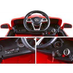 ELCARS Elektrické autíčko Mercedes S63 AMG, licencia