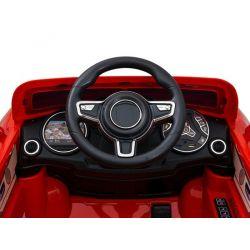 ELCARS elektrické autíčko v štýle Posche, imitácia jazdy
