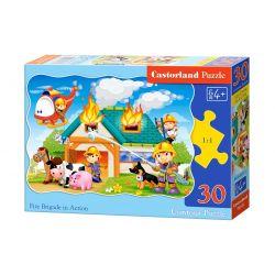 Castorland Puzzle Hasiči v akcii, 30 dieikov