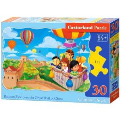 Castorland Puzzle Jazda balónom, 30 dielov