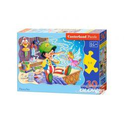 Castorland Puzzle Pinokio, 30 dielikov