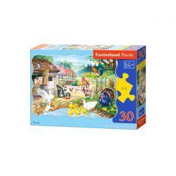 Castorland Puzzle Farma, 30 dielikov