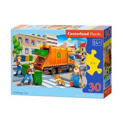 Castorland Puzzle Smetiarske auto, 30 dielikov