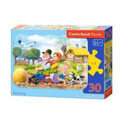 Castorland Puzzle Ťahal dedko repu, 30 dielikov