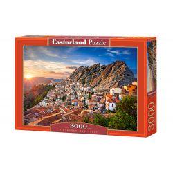 Castorland Puzzle Pietrapertosa, Taliansko 3000 dielikov
