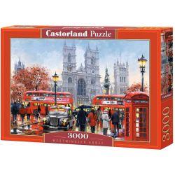 Castorland Puzzle Westminsterské opátstvo, 3000 dielikov