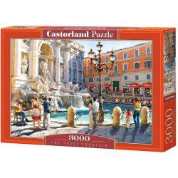 Castorland Puzzle Fontána Trevi, 3000 dielikov