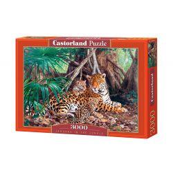 Castorland Puzzle Jaguáre v Džungli, 3000 dielikov