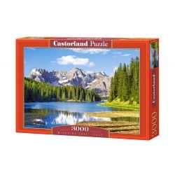 Castorland Puzzle Jazero Misurina v Taliansku, 3000 dielikov