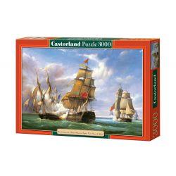 Castorland Puzzle Námorná bitka, 3000 dielikov
