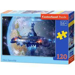 Castorland Puzzle Mimozemská vesmírna loď, 120 dielikov