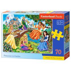 Castorland Puzzle Princezné v záhrade, 70 dielikov
