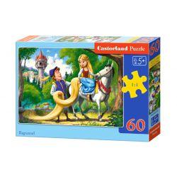 Castorland Puzzle Na vlásku, 60 dielikov