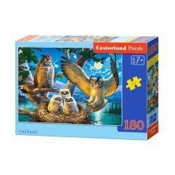 Castorland Puzzle Sovia rodinka, 180 dielikov