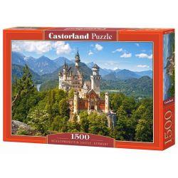 Castorland Puzzle Zámok Neuschwanstein, 1500 dielikov