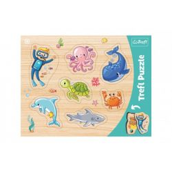 Vkladačka- Puzzle morský svet
