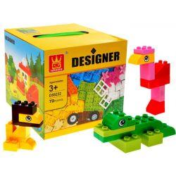 Farebná kreatívna stavebnica – zvieratká
